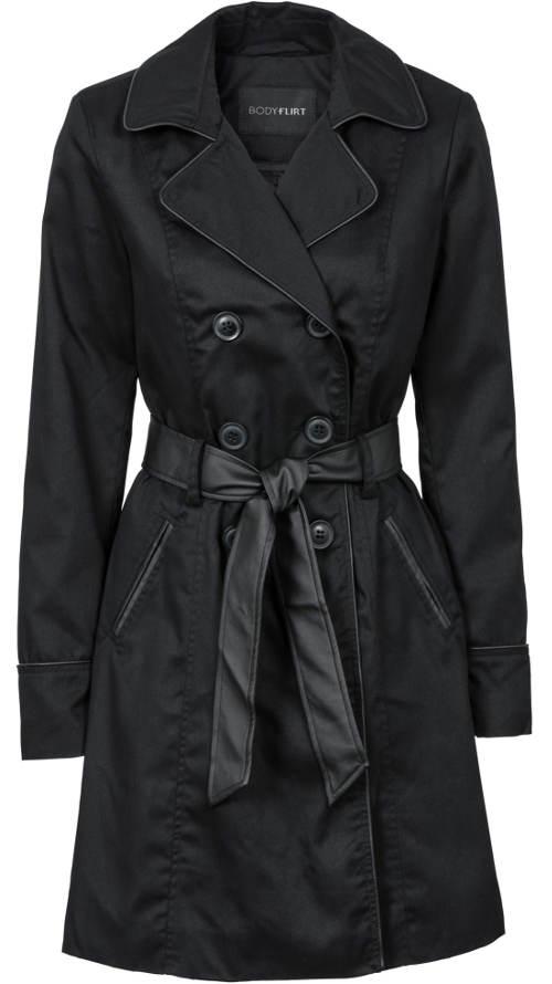 Podzimní dámský kabát (trenčkot) 0e418db9e8