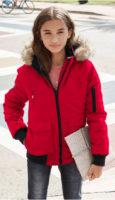 Dívčí outdoor bunda s odnímatelnou kapucí