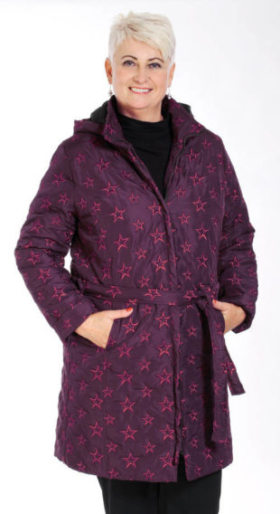 Zavinovací zimní bunda pro starší