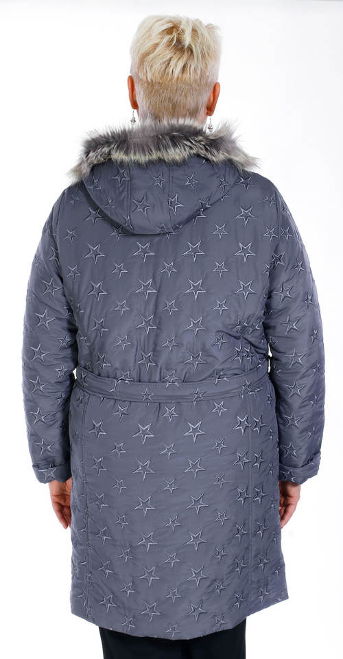 Zimní bunda pro babičku