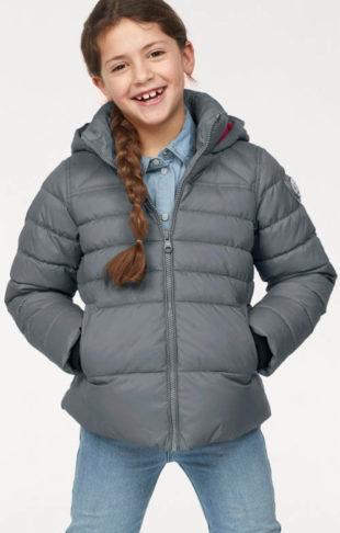 Funkční prošívaná dětská zimní bunda