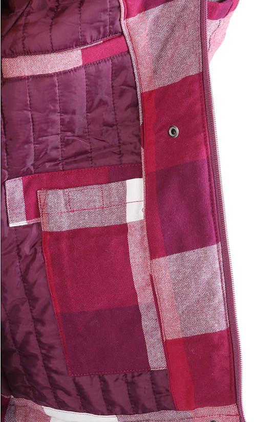 Lehčí zimní bunda s vnitřním prošitím