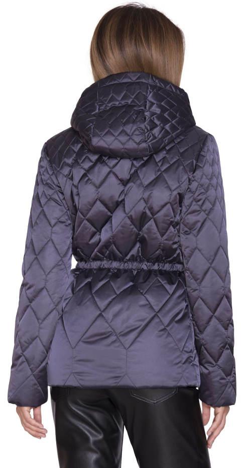 Fialovo-modrá dámská zimní bunda Pietro Filipi