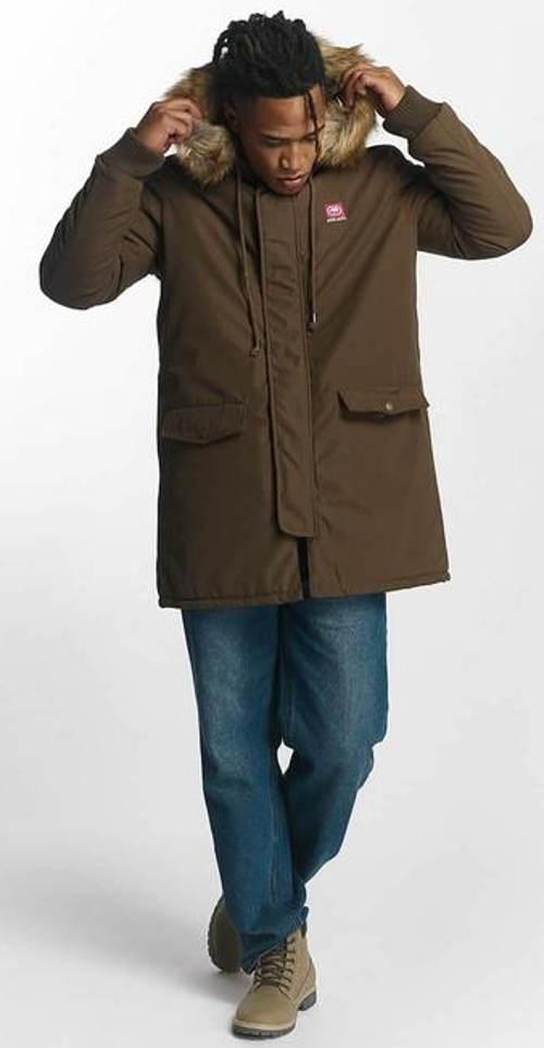 Hnědá pánská zimní bunda