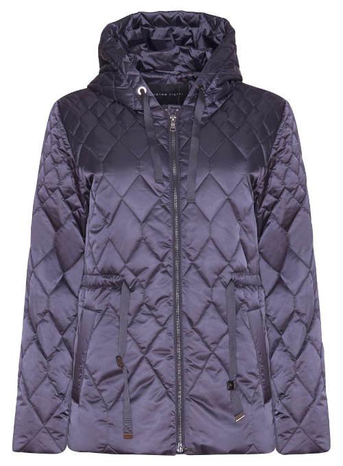 Lehká moderní zimní bunda se stahovacím páskem