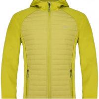 Žlutá pánská sportovní zimní bunda Loap