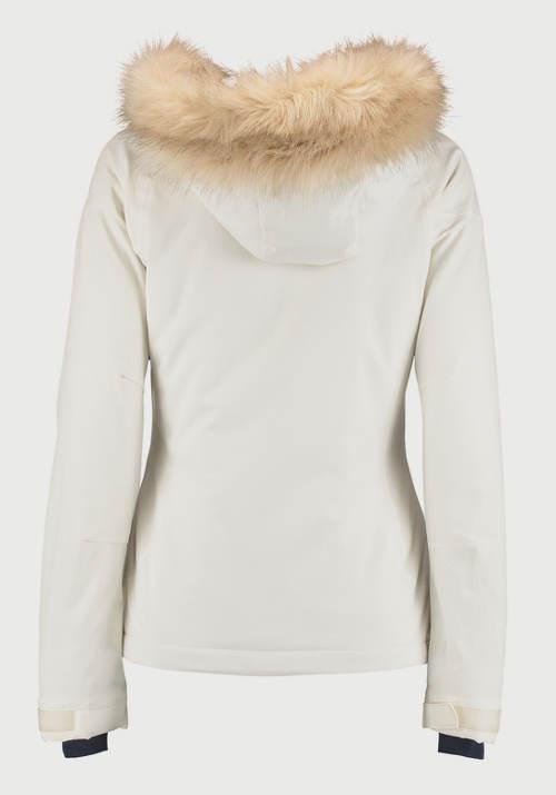 Bílá dámská zimní bunda výprodej