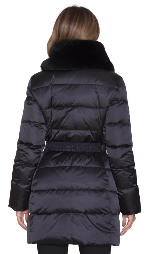 Černá dámská zimní bunda Pietro Filipi