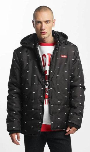 Černá pánská zimní street bunda