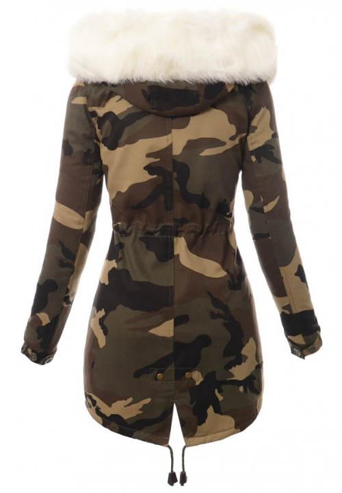 Dámská army zimní bunda