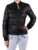 Dámská černá zimní péřová bunda Adidas