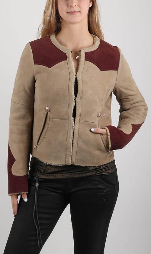 Dámská kožená zimní bunda Replay