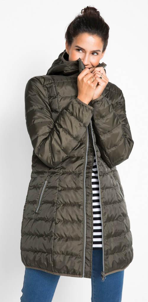 Dámská peřová zimní bunda