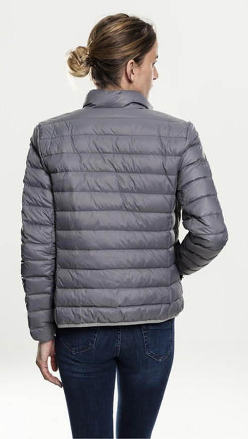 Dámská šedá podzimní bunda
