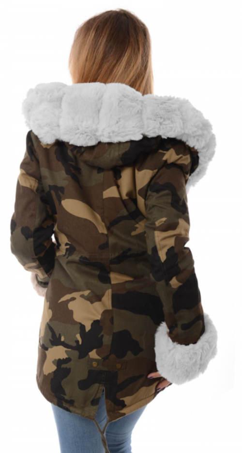 Dámská trendy zimní bunda