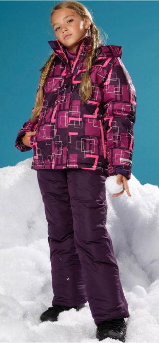 Dětská nepromokavá funkční lyžařská bunda