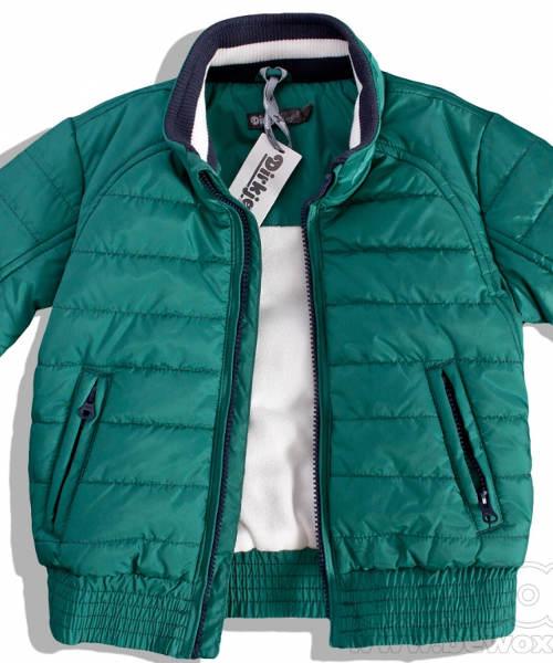 Dětská zelená zimní bunda DIRKJE GREEN