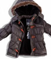Dětská zimní bunda s odepínatelnou kapucí