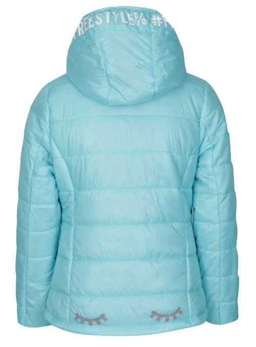 Dětská zimní bunda s reflexnimi prvky