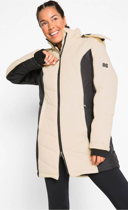 Funkční prošívaný dámský kabát