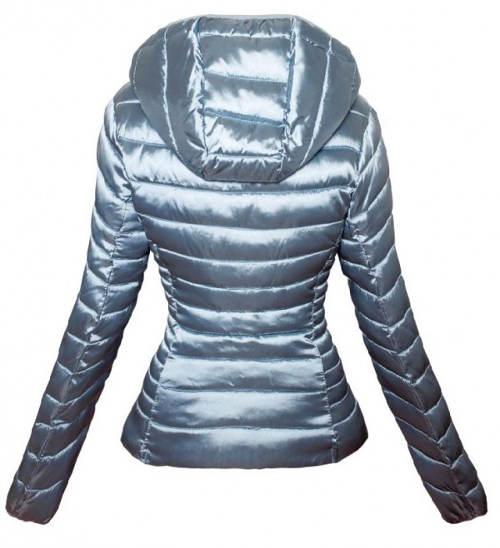 Krátká zimní XXL bunda