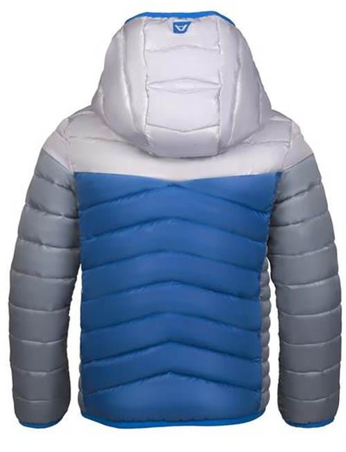 Modro-šedá chlapecká bunda