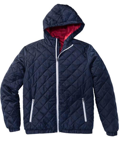 Modrá pánská zimní bunda