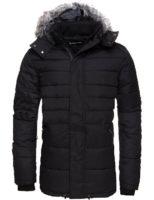 Pánská černá zimní bunda Alpine Pro