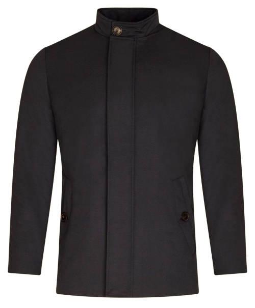 Pánská zateplená bunda styl krátký kabát