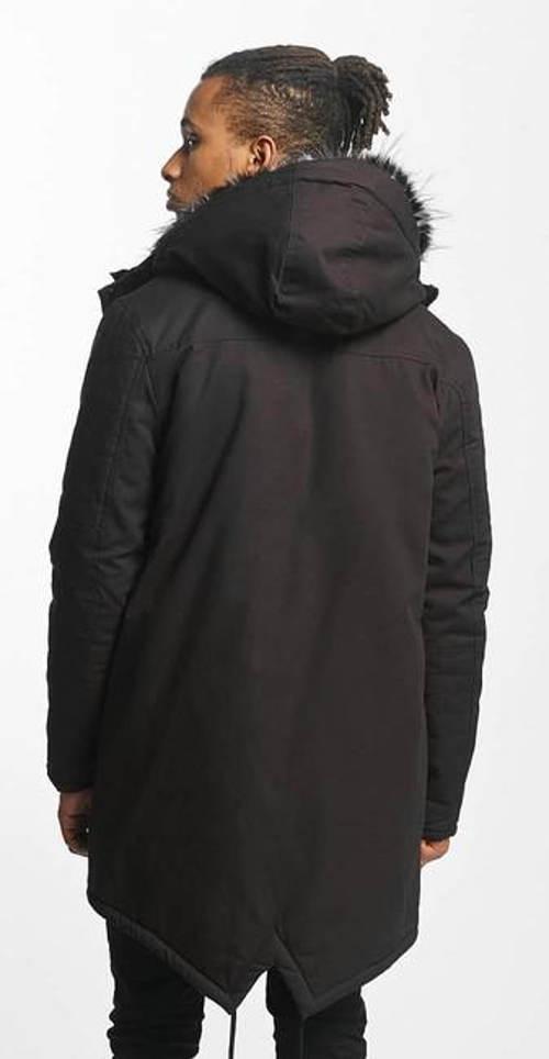 Pánská zimní bunda asymetrického střihu