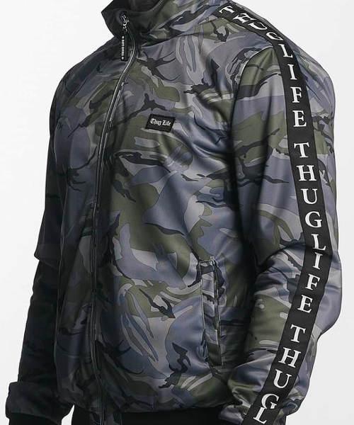 Pánská zimní bunda do pasu