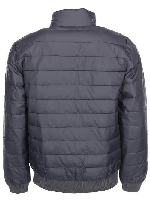 Šedá pánská zimní bunda do pasu