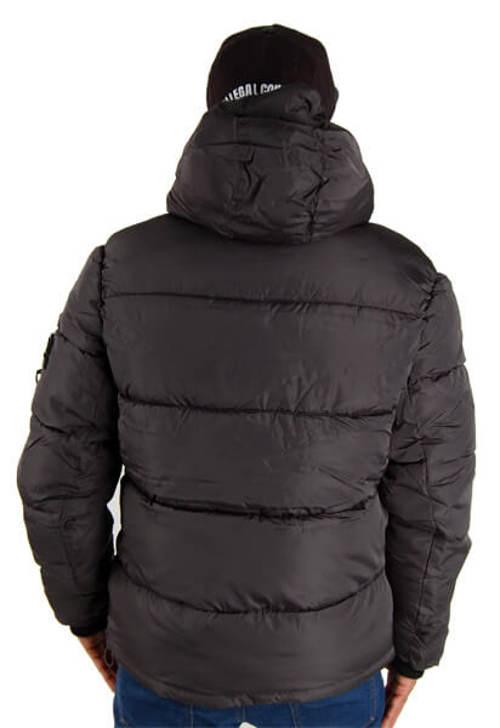 Teplá pánská prošívaná bunda