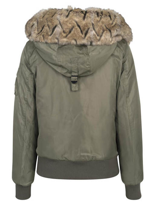 Zimní bunda s pružnými lemy