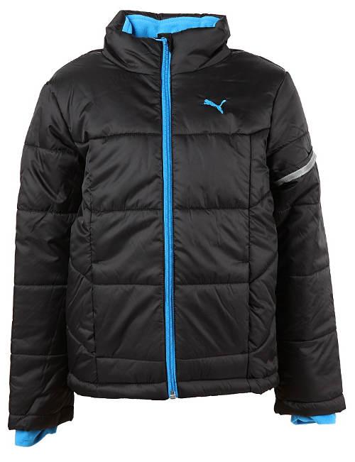 Černá chlapecká zimní bunda Puma