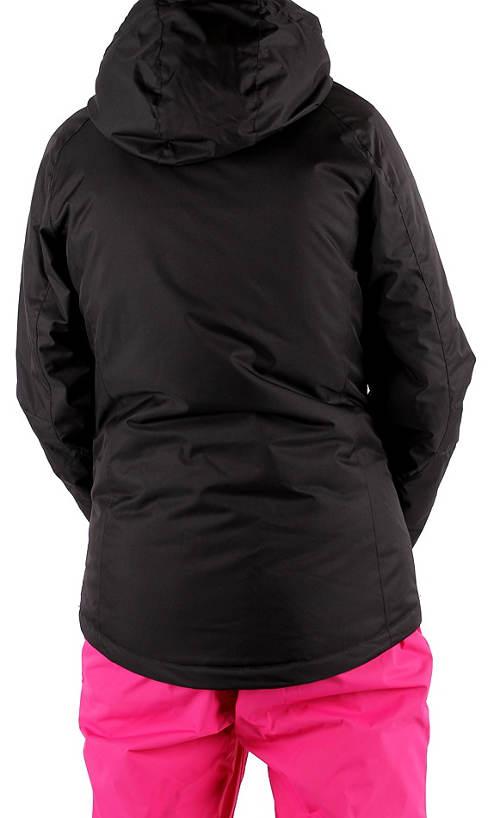 Černá dámská lyžařská bunda Alpine Pro