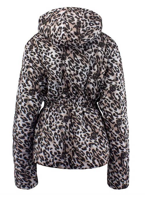 Dámská zimní bunda se zvířecím motivem