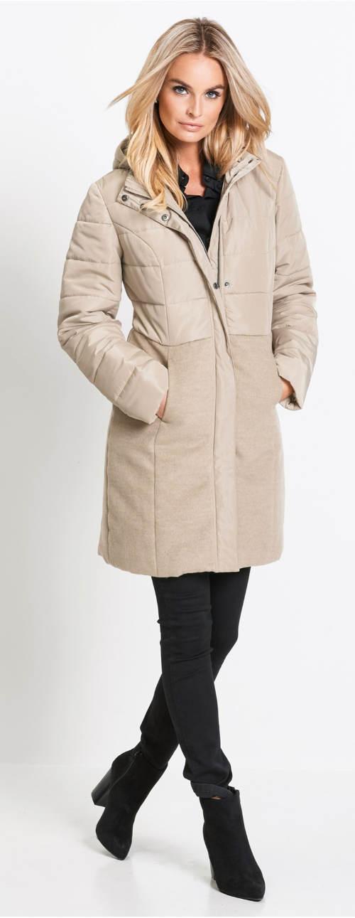 Elegantní zimní bunda do práce