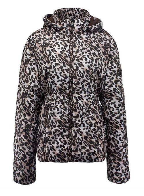Leopardí dámská bunda Lee Cooper