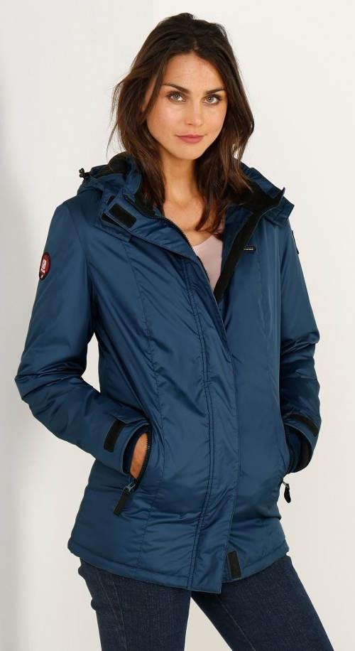 Nepromokavá dámská bunda s fleecovou podšívkou