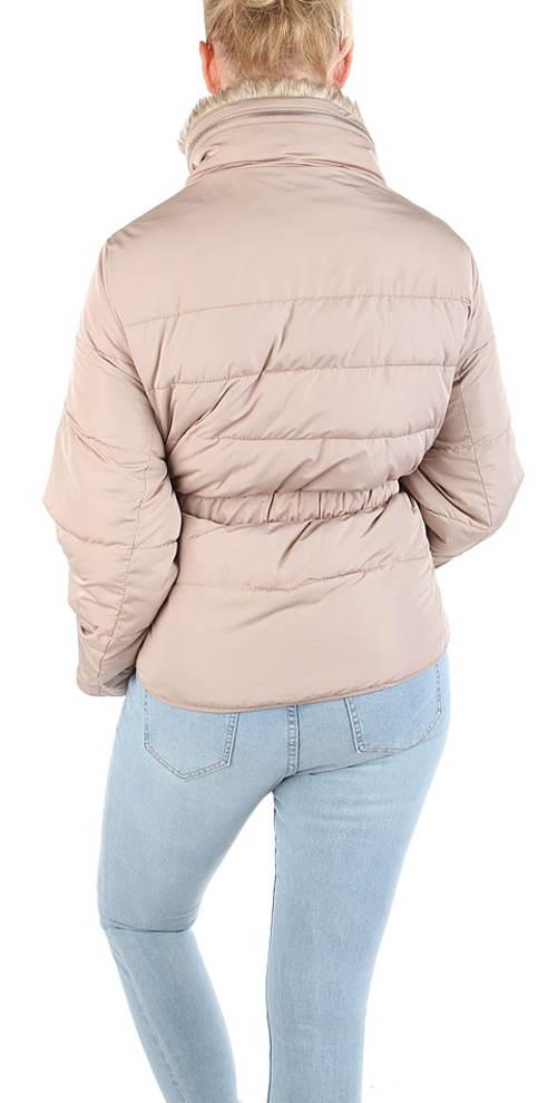 Béžová výprodejová dámská bunda