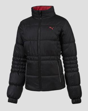 Černá dětská zimní bunda Puma