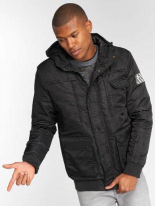 Černá pánská zimní bunda Thug Life