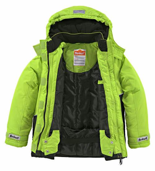 Chlapecká reflexní lyžařská bunda