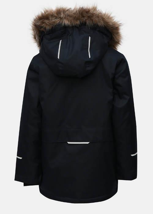Chlapecká zimní bunda s huňatým kožíškem