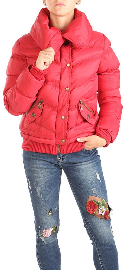 Dámská červená zimní bunda Cherokee
