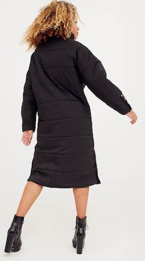 Dámská zimní bunda pod kolena