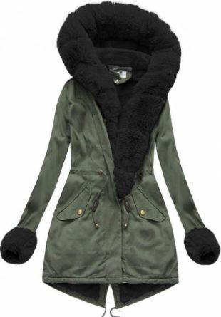 Krásná a moderní dámská zimní bunda ELORA