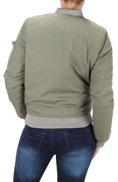 Krátká zimní dámská bunda výprodej