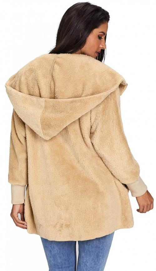 Lehčí fleecová zimní bunda
